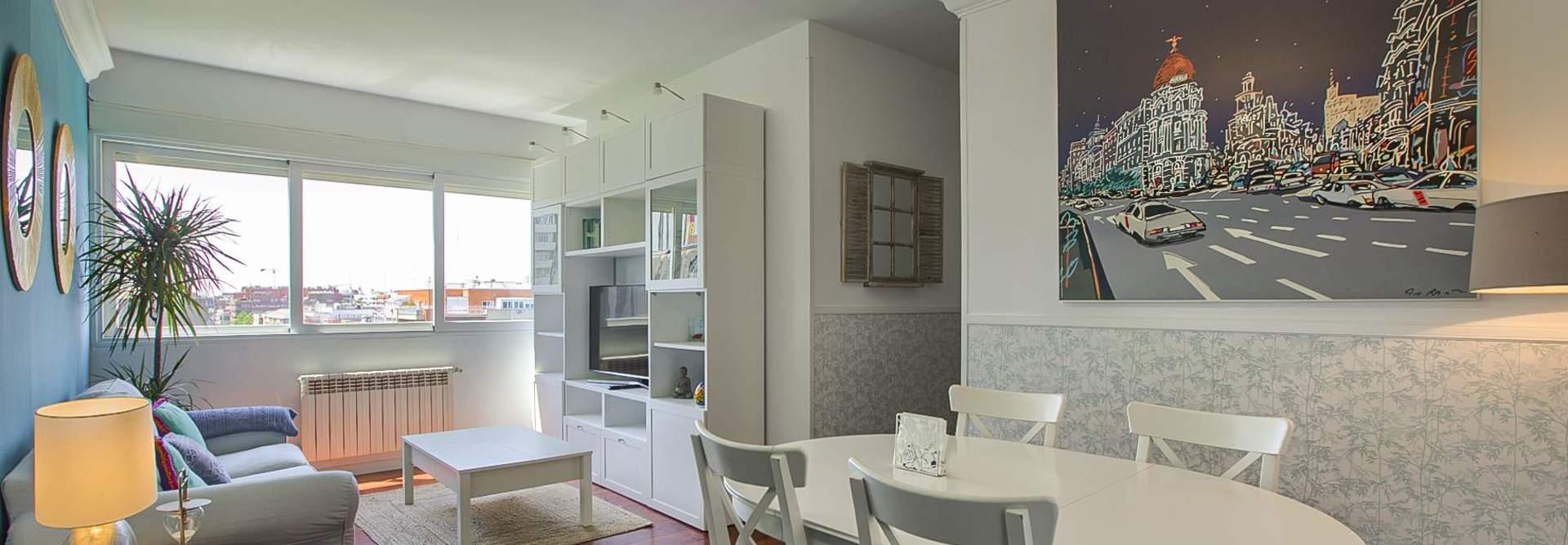 Rent apartment in Madrid City Centre per days.